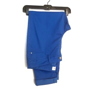 Cobalt Blue Skinny Pants
